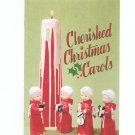 Cherished Christmas Carols Song Book Vintage Brown & Bigelow 1958