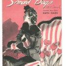 Smart Bags Book 209 Spool Cotton Company Crochet  Vintage 1944