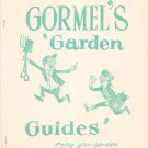 Gormel's Garden Guides Bulletin Number 1 through 8 Vintage Plant Food Company