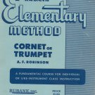 Rubank Elementary Method Cornet Or Trumpet Number 18