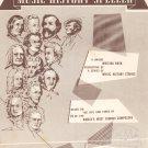 John W. Schaum Music History Speller Belwin Vintage