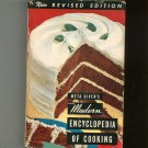 Modern Encyclopedia Of Cooking Volume I Cookbook Revised By Meta Givens With Dust Jacket
