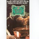 110 Prize Winning Main Dish Recipes French's Recipe Hunt Cookbook Vintage 1975