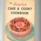 The Family Circle Cake & Cooky Cookbook Vintage Hard Cover 1953