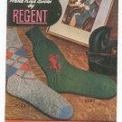 Hand Knit Socks By Regent Volume Number 20 Vintage
