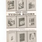 Tudor Books 1960-1961 Catalog Harlem Book Company Vintage