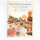 Your Waring Cookbook / Manual 7 Speed Blender Vintage Revised 1974