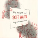 Vintage Advertising Brochure Permutit Water Softner Why It Pays To Have 1956