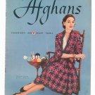 Afghans Vintage J. P. Coats Clark's Book Number 289 First Edition 1952