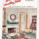 1001 Decorating Ideas Book 11 Vintage Conso Consolidated Trimming Corporation Drapery Trim