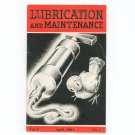 Lubrication & Maintenance Vintage April 1934 Magazine With Advertisements