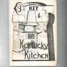 Key To Kentucky Kitchens Cookbook Regional Vintage Kappa Kappa Gamma