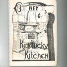 Key To Kentucky Kitchens Cookbook Regional Vintage Kappa Kappa Gamma