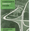 Vintage Pennsylvania Turnpike System The World&#39;s  Greatest Highway Travel Brochure