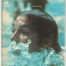 Vintage Montreal 1976 Olympiad XXI Swimming Souvenir Program With Insert Olympics