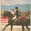 Vintage Montreal 1976 Olympiad XXI Equestrian Souvenir Program With Insert Olympics