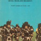 The Black Watch Royal Highland Regiment North American Tour Souvenir Program Vintage