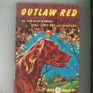 Outlaw Red Vintage Hard Cover Grosset & Dunlap Famous Dog Stories