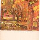 Palette Talk Number 18 Vintage Artist Grumbacher