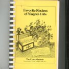 Favorite Recipes Of Niagara Falls Cookbook Regional Crafts Museum Vintage First Printing