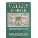 Valley Forge Pennsylvania Fold Out Travel Brochure / Guide Vintage
