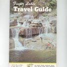 Vintage Finger Lakes Travel Guide 1967 Edition New York With Advertisements