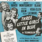 This Is Always Sheet Music Vintage Three Little Girls In Blue BVC
