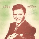 I Don't Believe In Rumors Sheet Music Vintage Broadcast Music I Want It Straight From You