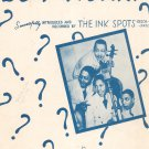 Do I Worry Sheet Music Vintage Melody Lane Publications The Ink Spots