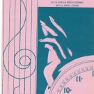 The Hands Of Time Sheet Music Vintage Colgems Music Corp.  Brian's Song