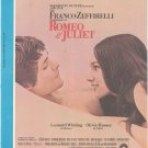 A Time For Us Sheet Music Vintage Famous Music Romeo & Juliet