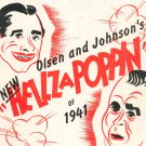 G'Bye Now Hellzapoppin Of 1941 Sheet Music Vintage Broadcast Music