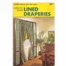 Vintage How To Make Lined Draperies 1001 Decorating Ideas Home Library