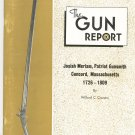 The Gun Report November 1973 Josiah Meriam Patriot Gunsmith Cousins Vintage Shipping Special