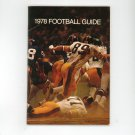 Vintage 1978 Football Guide Esidrix