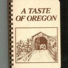 A Taste Of Oregon Cookbook Junior League 0960797602