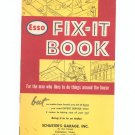 Esso Fix It Book For The Man Who Likes To Do Things Around The House Vintage