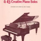 An American In Paris & 43 Creative Piano Solos by Dan Coates