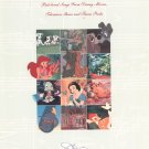 The Disney Collection Music Book Piano Vocal Guitar 0793508320