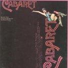 Vocal Selections From Cabaret Souvenir Folio 0881884405
