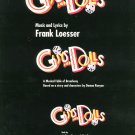 Vocal Selections Guys And Dolls Broadway Musical Fable 0881882011