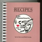 Recipes From Massachusetts With Love Cookbook by Liz Anton & Beth Dooley 0913703079