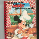Cooking With Mickey Around Our World Cookbook Disney
