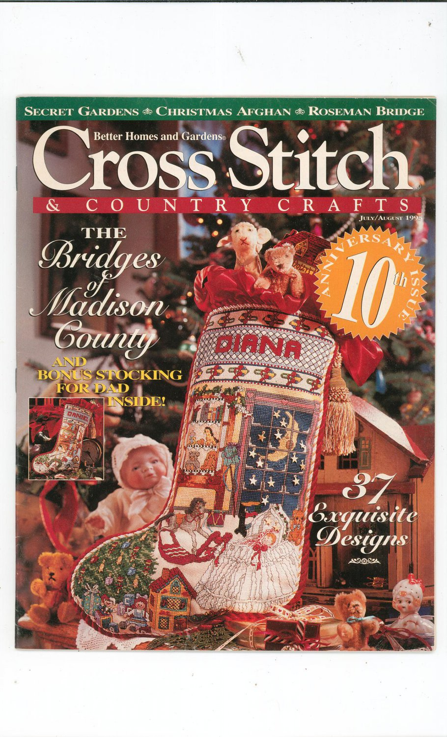 Better homes and gardens cross stitch country crafts Better homes and gardens july