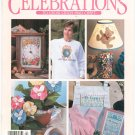 Leisure Arts Publication Celebrations To Cross Stitch & Craft Spring 1993