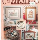 Leisure Arts Publication Celebrations To Cross Stitch & Craft Winter / Spring 1991