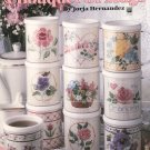 A Bouquet Of Mugs by Jorja Hernandez Leisure Arts Leaflet 2135