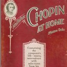 Frederic Chopin At Home Piano Solo Appleton Master Composer Series Number 3 Vintage
