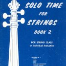 Solo Time For Strings Book 2 Piano Highland Etling
