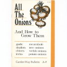 All The Onions And How To Grow Them Garden Way Bulletin A- 9